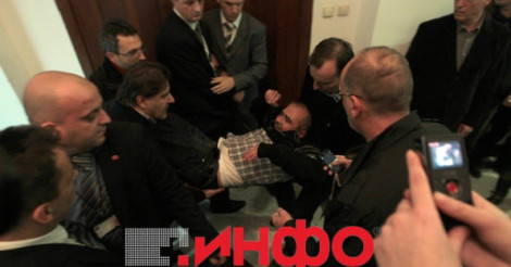 Violence in the Macedonian Parliament