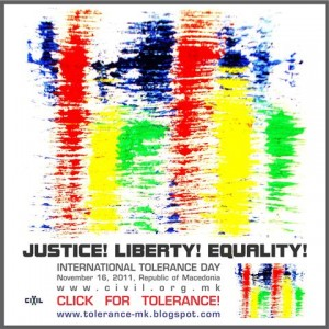 International Day for Tolerance, Republic of Macedonia
