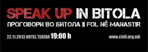 speak up in bitola event (m)s