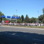 Судири со полицијата на скопските улици
