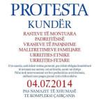 Civil apelon për protesta të qeta