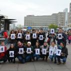Цивил со перформанс во Берлин