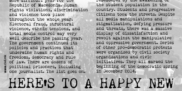 2015: YEAR OF DEMOCRACY!