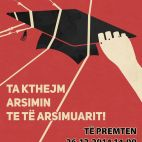 Përkrahje protestës së studentëve nga organizatorët e protestës kundër pagimit të kontributeve për honorarët