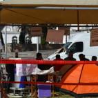 """Уметничка работилница """"Боите на слободата"""" во кампот #ЗбогумНикола пред Владата"""