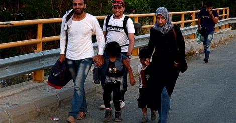 По илјадници километри и страдања во војната во Сирија, овие луѓе се уште имаат надеж, се уште имаат сили за насмевка и љубезност.