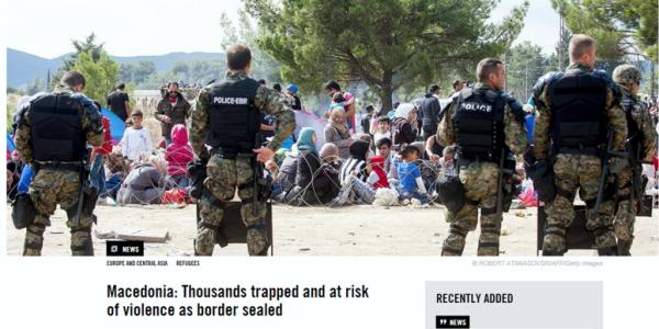 Sjellja ndaj refugjatëve – një njollë e turpshme