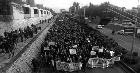 studentski protest