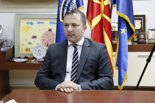 Оливер Спасовски, МВР