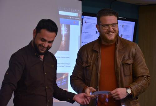 """Божидар Барлакоски, добитник на втората награда за видеото """"Ноќна мобилизација во Прилеп за """"одбрана"""" на Уставниот суд"""""""