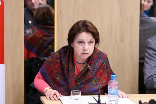 E.S. Ambasadorja e Republikës Federative të Gjermanisë, dr. Kristine Althauzer